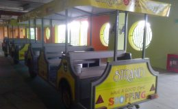 Τουριστικό αξιοθέατο αστείο αργό τρένο έρχεται ντίζελ ηλεκτρικό σύστημα βενζίνης μεθάνιο 4×4