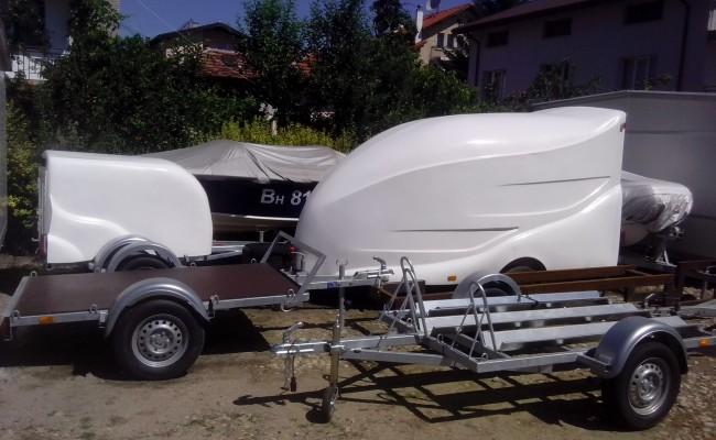 produzione del servizio di vendita rendendo piattaforme barca caravan per la registrazione yachts getti