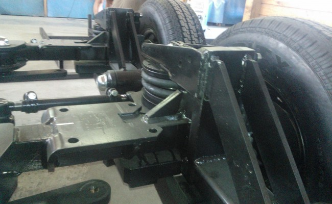 sale of axles for trailers with air bags and semi-conductors making air brakes for trailers and caravans