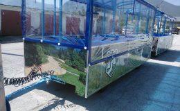 تسليم قطعتين من القطارات السياحية بلدية فراتسا