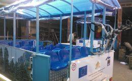 Dodávka dvou kusů turistické vlaky Vratsa Obec