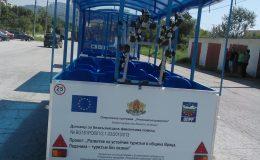Iki adet turistik tren Vratsa Belediyesine teslimat