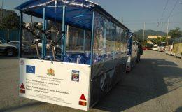 Livrare din două bucăți de turist trenurilor municipiului Vrața