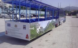 delivery of tourist attraction train to vraca