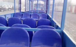 Tourist train seats
