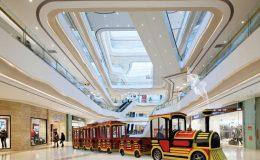 small electric mall train