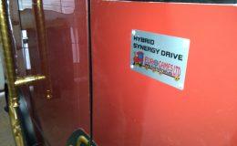 Hybrid Synergy drive tourist train